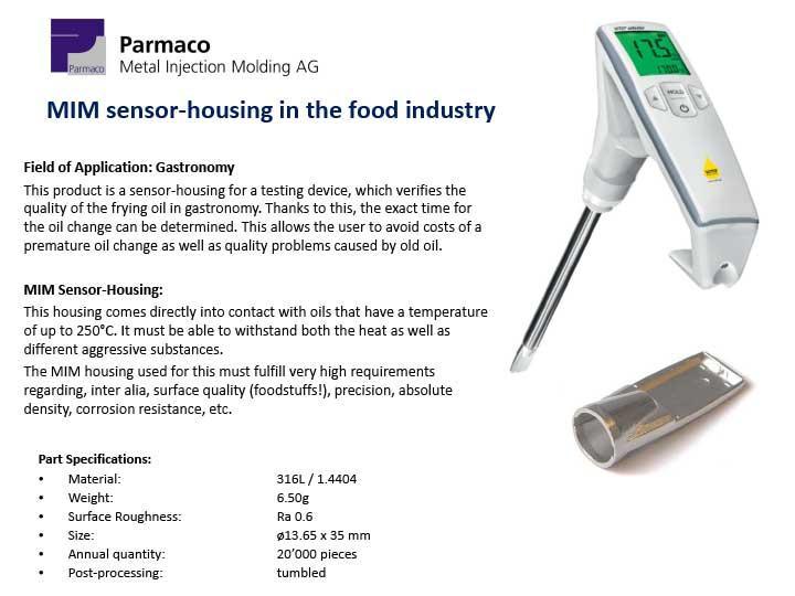 Sensor Technology - Parmaco AG